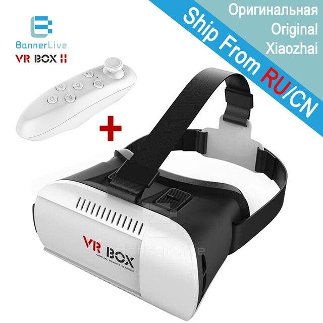"""2016 Профессиональный VR BOX Pro 3D Очки Bluetooth Remote Google Картон Виртуальная Реальность Видео Очки для 3.5 """"~ 6"""" смартфон"""