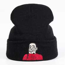 Mac Miller Beanie вышивка US Rapper Malcolm вязаная шапка McCormick вязанные шапочки Skullies теплые зимние унисекс горнолыжные шапки