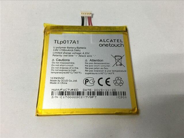 For Alcatel One Touch Idol Mini / Daul OT-6012A OT-6012D OT-6012E OT-6012W OT-6012X TCL S530T 1700mAh TLp017A1 Battery