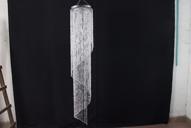 (H)180cm(4ft) (W)22cm CRYSTAL BEADED COLUMN Banquet canopy & H)180cm(4ft) (W)22cm CRYSTAL BEADED COLUMN Banquet canopy ...