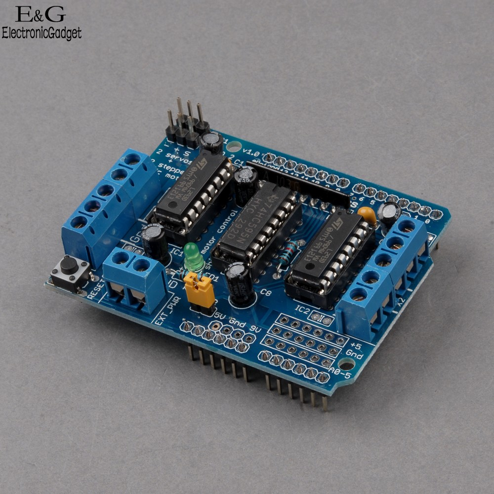 Motor Control Shield Expansion Board L293d For Arduino