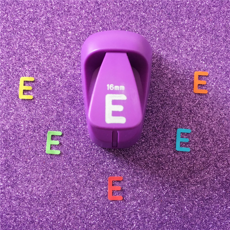 Letter Hole Puncher.Us 6 13 5 Off Free Shipping Alphabet E Shaped Save Power Paper Eva Craft Punch Scrapbook Handmade Punchers Diy E Letters Hole Punches Puncher In