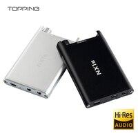 TOPPING NX1s New Hi Res Digital OPA1652 LMH6643 HiFi Audio Portable Mini Headphone Amplifier AMP