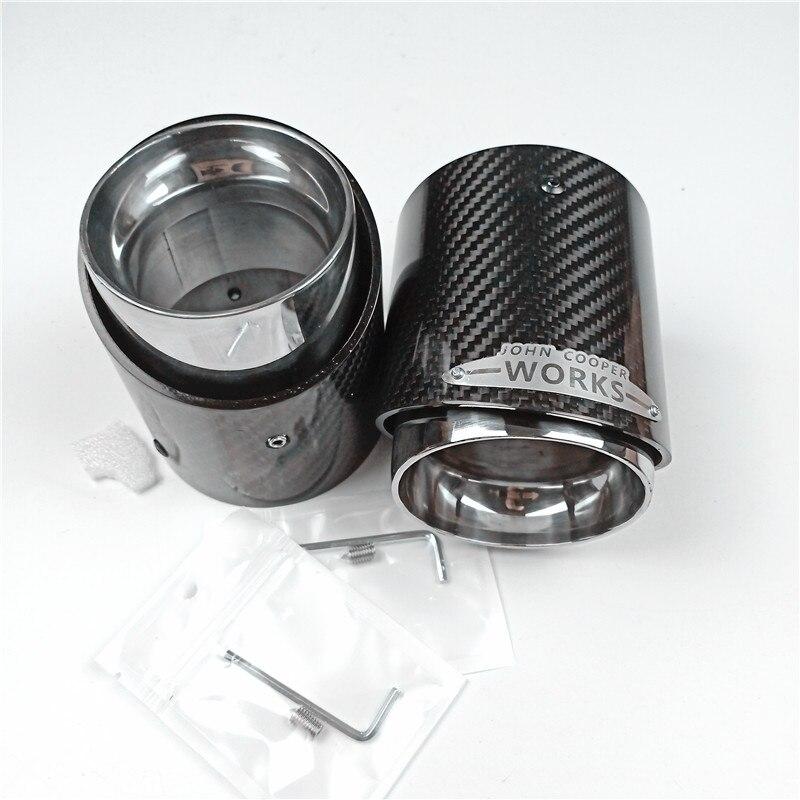 Muffler-Tips Exhaust-Tip Carbon-Fiber Mini Cooper F56 R55 F60 Ce R57 R58 R59 R61 F54