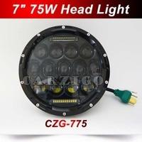 CZG 775 Hi Low Beam C REE 75w 7Inch Round Led Headlight 7 75w Round LED