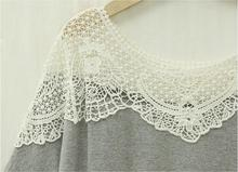 Summer Large Size Shirts Women T-Short Sleeve Lace Hollow Out Cotton Long Tees Top For Women Clothes Plus Size 5XL T65331R