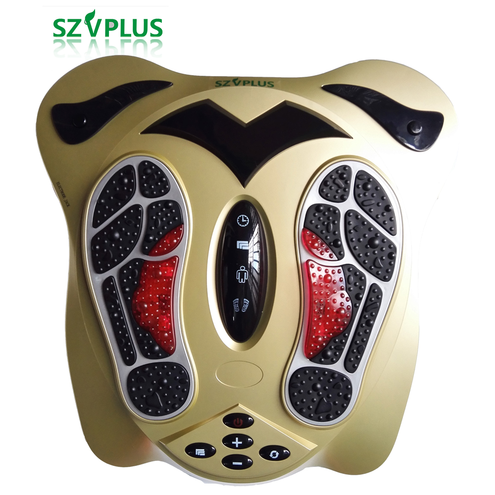 Foot massager 99 modes electromagnetic wave 25 modes massage far infrared Feet Care Body EMS technolgoy