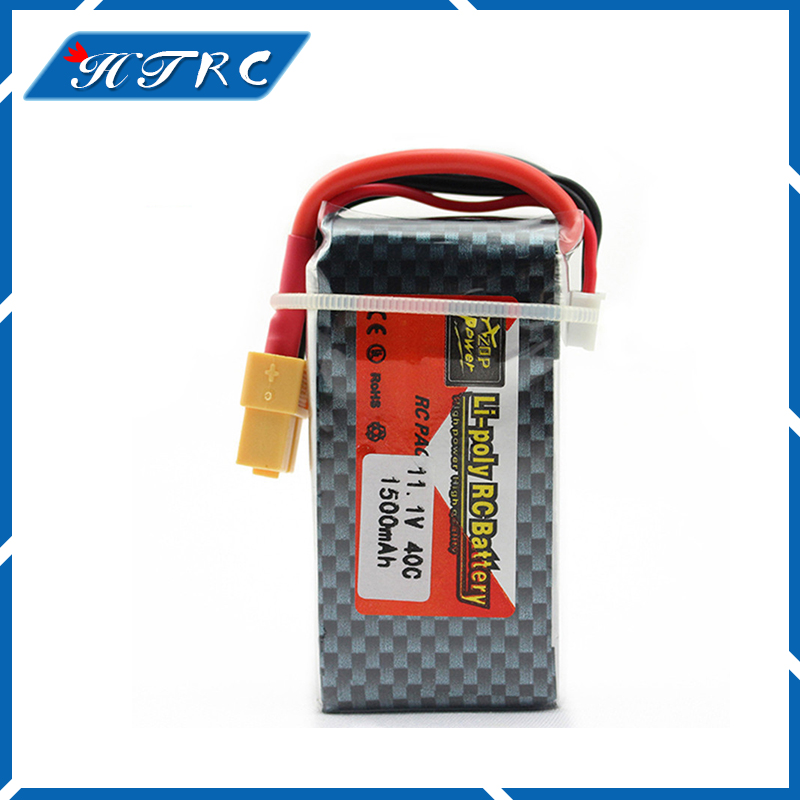ZOP 11.1 V 1500 Mah 3S 40C Li-Po Battery T Plug For RC Quadcopter Drone Helicopter WLtoys V950 Car Airplane Toy Parts
