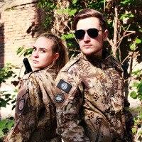 2 шт./компл. Airsoft Охота Тактический Армии комплекты униформы CS игра Военная куртка + штаны камуфляжные снайперская одежда
