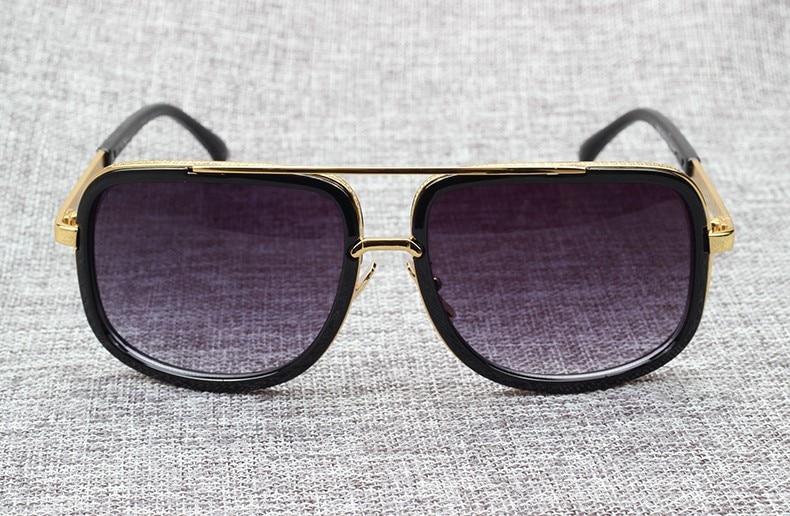 81953546dda 2018 Fashion 18K Gold Mach One Adam Lambert Aviation Sunglasses ...