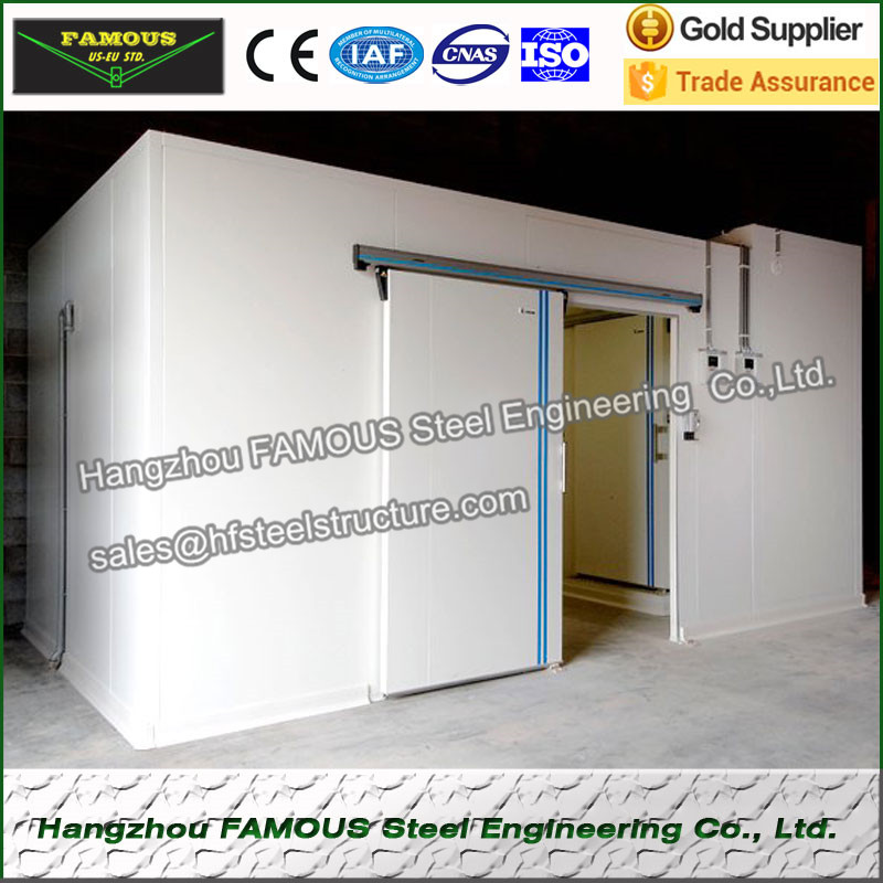 Cold Room 304 Stainless Sliding Door