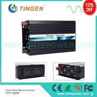 CE RoHS Approved 12V 24V Dc To AC 110V 220V 230V 240V Ac 1500W Pure Sine