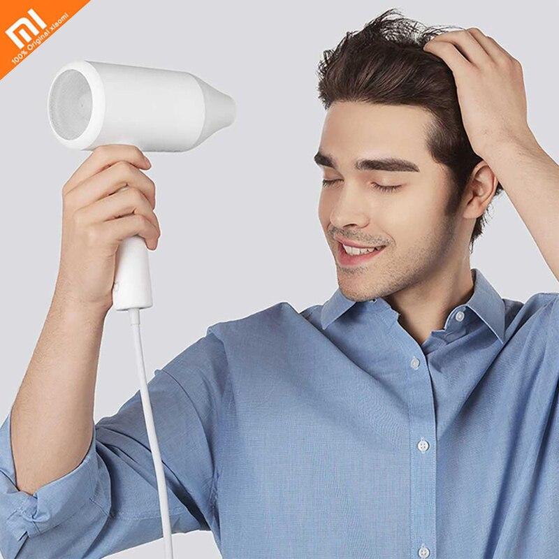 Xiao mi mi jia 1800 W sèche-cheveux électrique ionique à trois vitesses réglage de la température pour Xiao mi Kits maison intelligente mi sèche-cheveux