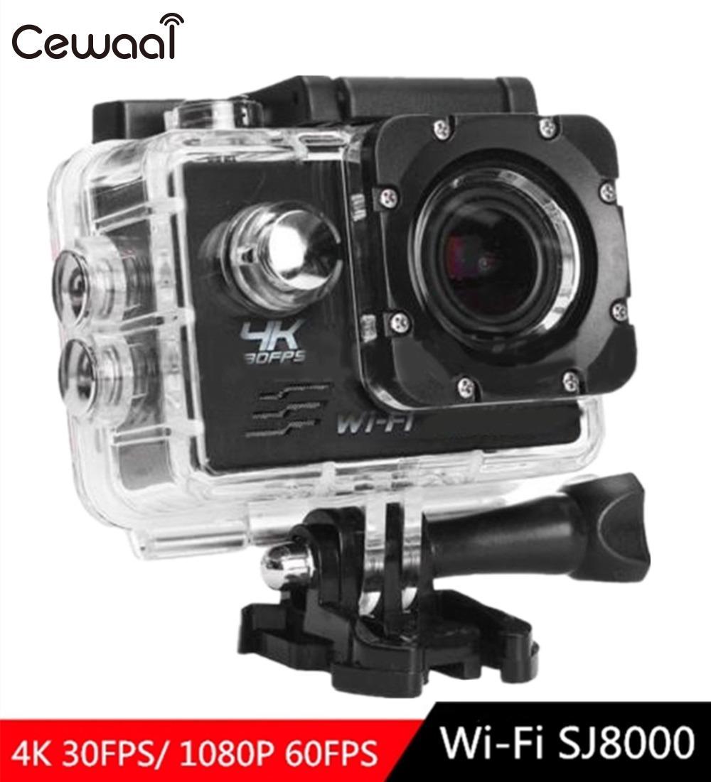 Professioneller Verkauf Cewaal Sj8000 Action Kamera Ultra Hd 4 K/25fps Wifi 2,0 170d Unterwasser Wasserdichte Helm Video Aufnahme Kameras Sport Kamera Sport & Action-videokameras Sport & Action-videokamera