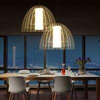 İskandinav Tarzı Yaratıcı Minimalist LED Kolye ışık denizanası + Elmas + Apple modelleri Villa Otel Galeri Çubuğu lamba dekorasyon