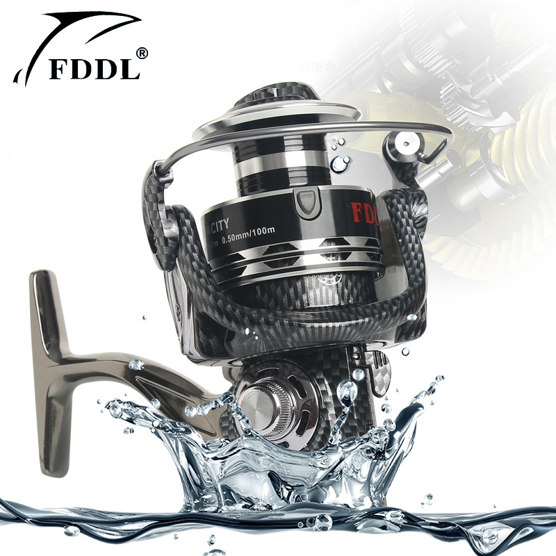 NEW Arrival Brand Exage 1000 -10000 Spinning Fishing Reel 12+1BB Coarse Fishing Tackle Lightweight