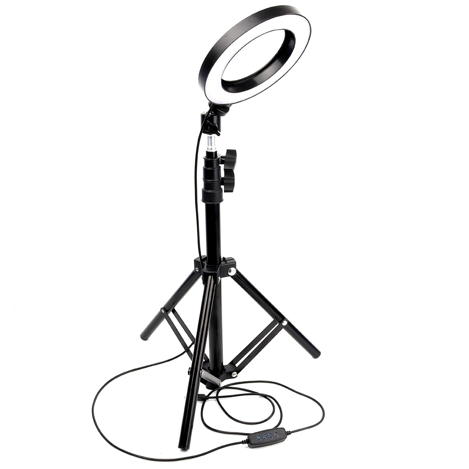 Светодиодная кольцевая лампа для видеосъемки на Youtube, кольцевая подсветка для макияжа, фотостудия, фотосъемка, Селфи