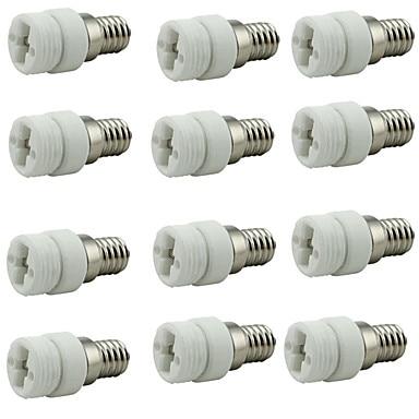 IWHD E14 To G9 Adapter Splitter Bulb Light Socket Converter Plastic Creamic E14 G9