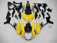 Injection Molding Motorcycle ABS Plastic Bodywork Fairing Kit Fit For Yamaha YZF1000 R1 2015 2016 2017 Yellow Fairing Parts YZF