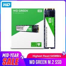 Жесткий диск Western Digital WD Green SSD 120 ГБ 240 Внутренний твердотельный жесткий диск SSD TLC M.2 2280 540 МБ/с. для ноутбука
