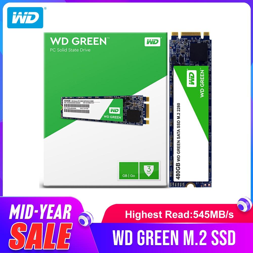 Western Digital WD Green SSD 120GB 240GB Internal Solid State Hard Drive Disk TLC M.2 2280 540MB/S for Laptop
