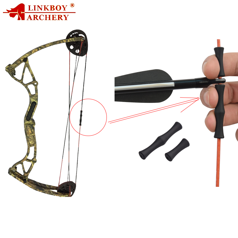 1PCS Archery Finger Guard Bowstring Finger Saver Tab Z2T5 Silicon W2C5 Bow G5B5