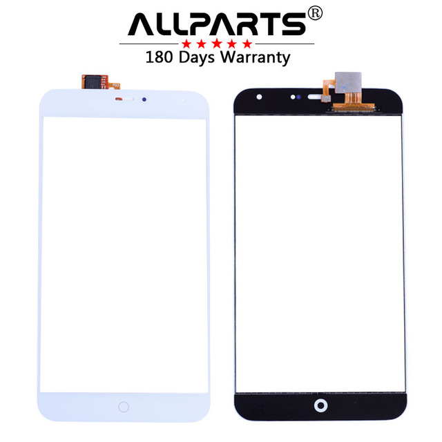 """ALLPARTS 100% TESTED 5.5"""" Touch Screen For Meizu MX4 Touch Screen Front Glass Panel Digitizer Replacement Parts"""