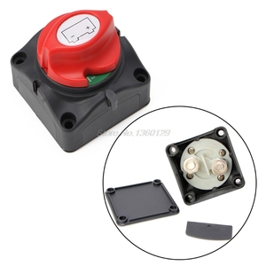Image 2 - Universal Car Battery Isolator Master Cutoff Cut Off Power Kill Switch 12V/24V Waterproof Cover Switch for Car Truck Boat Auto