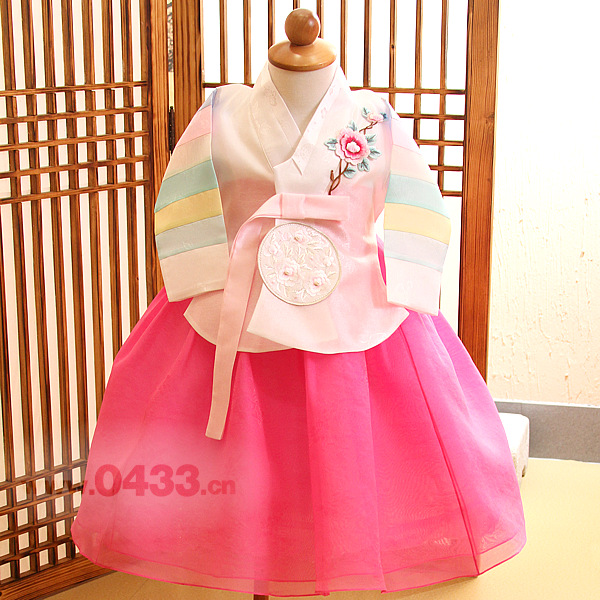 2019 New Boy Korean Dolbok Baby Hanbok Dress Birthday Party Costume National For Halloween Play Tang Suit US