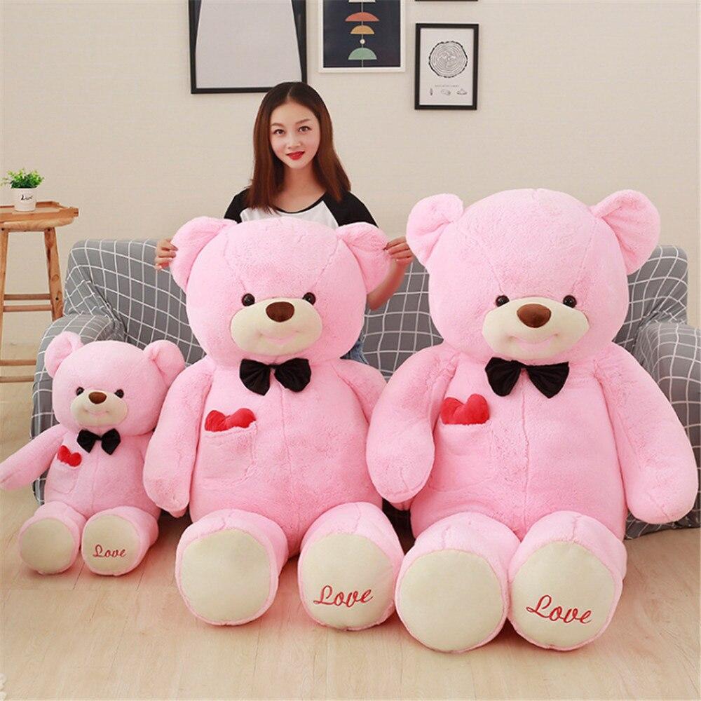Aliexpresscom Beli Fancytrader Raksasa Memberikan Jantung Boneka Beruang Jumbo Loved Mainan Mewah Besar Stuffed Lembut Hewan Bantal Aku Mencintaimu