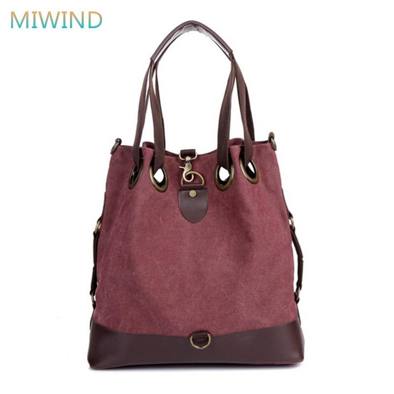 581af28aa9c9b Miwind bolsas mujer 2017 najwyższej jakości torebki damskie marka messenger  torby na ramię torba wiadro panie mody dużego ciężaru cb127