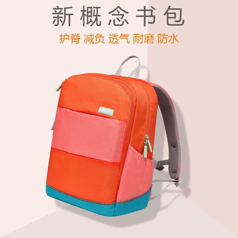 Sac pour enfants de haute qualité sac à dos d'école les élèves de l'école primaire protègent le fardeau de la colonne vertébrale