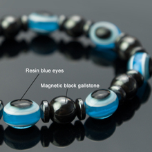 Magnetic Anti Cellulite Bracelet Weight Loss Round Magnetic Black Gallstone Fitness Reduce Weight