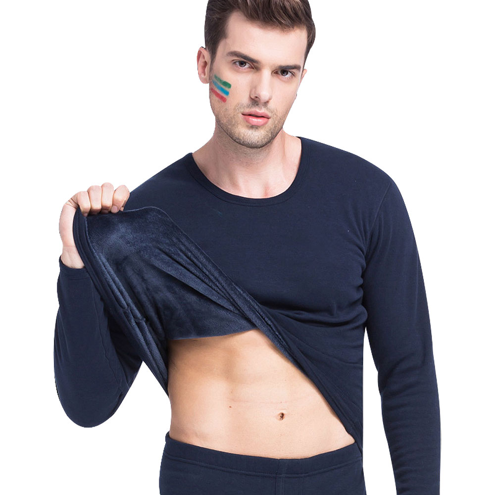 Men casual cotton t shirt 2017 fashion slim fit for Mens black thermal t shirts