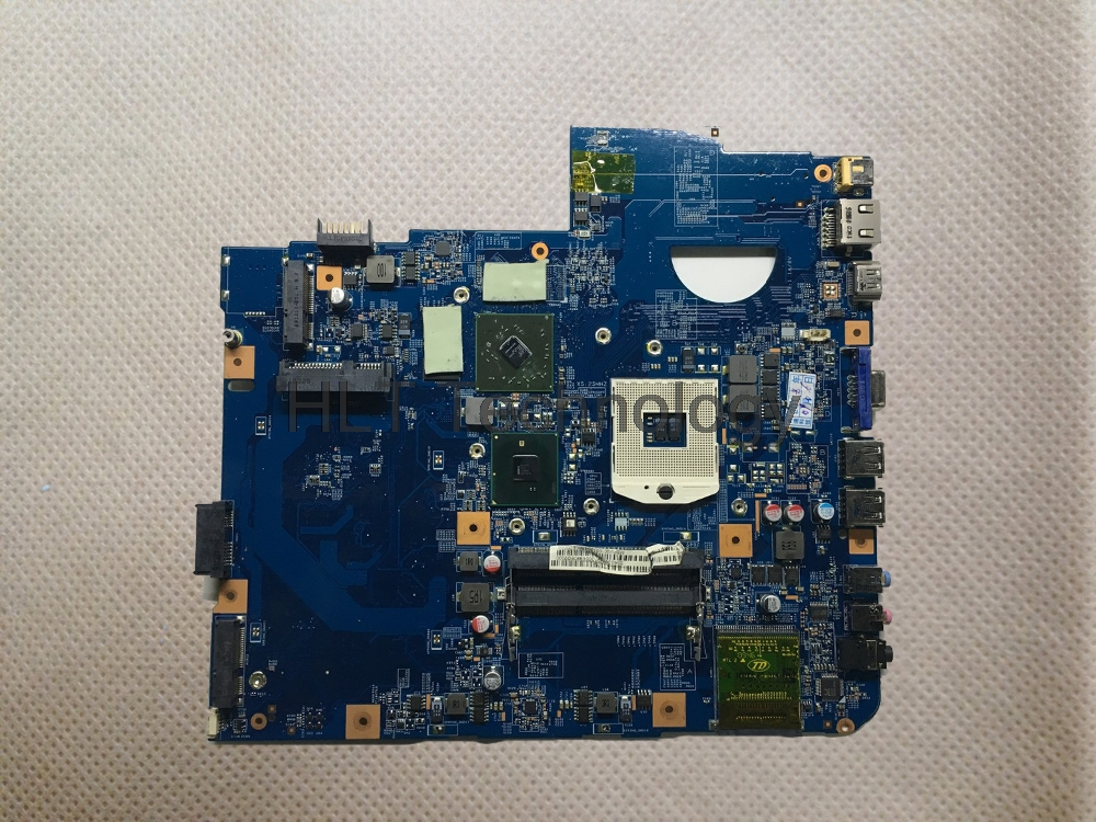HOLYTIME Laptop Motherboard For Acer 5740 5740G 48 4GD01 01M 09285 1M HM55 DDR3 HD5470 100