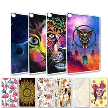 Painted Clear Tablet Case For Lenovo TAB E10 E8 E7 M10 P10 Case Silicone Cover For Lenovo A7-30 A7-50 Phab Plus Soft TPU Bags все цены