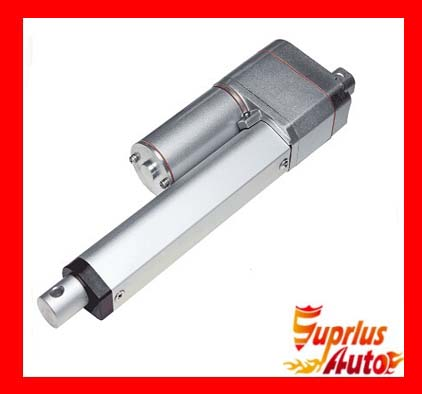 12V Linear Actuator, 15 / 375mm Stroke 1000N / 225LBS Load and Potentiometer Feedback DC Linear Actuator