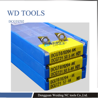10pcs DCGT0702 copper aluminum insert internal  turning tool insert