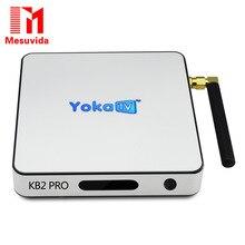 YOKATV KB2 PRO Android 6.0 Окта Основные TV Box 3 Г DDR4 ОЗУ 32 Г ROM Amlogic S912 Set Top Box КОДИ 17.0 Bluetooth 4.0 2.4 Г/5 Г wi-fi