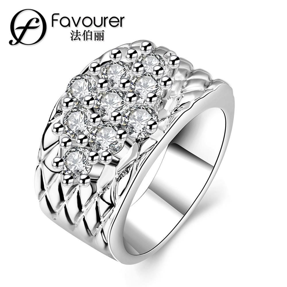 new design gold ring womens engagement polycyclic rings the new valentines day gift ideas ring hot sale - Ring Design Ideas