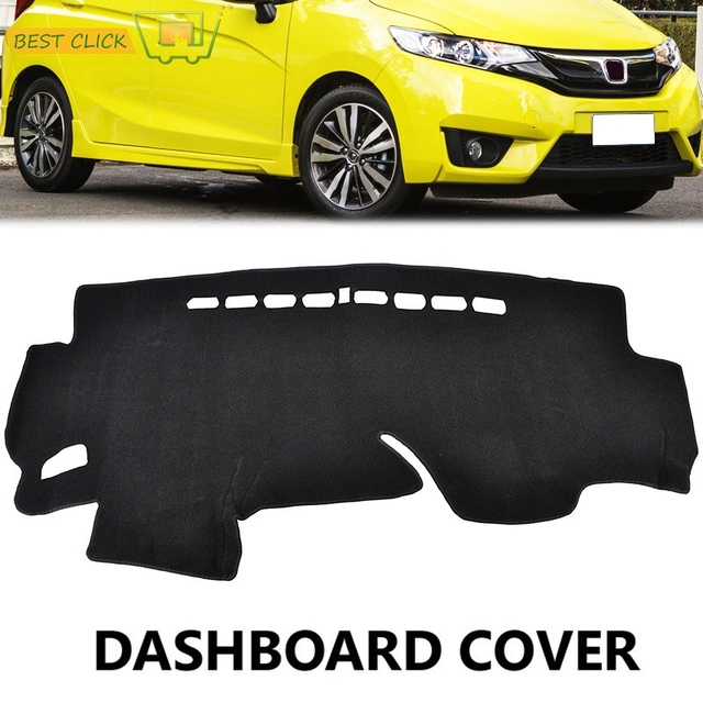 Xukey Fit For Honda Jazz Fit 2014 2015 2016 Dashboard Cover Dashmat Dash Mat Pad Sun Shade Dash Board Cover Carpet RHD
