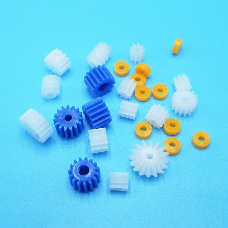 Nice Mix26 High Quality Main Shaft Gear Bag 2mm 2.2mm 3.17mm 4mm Worm Gear D Shaft Pinnions