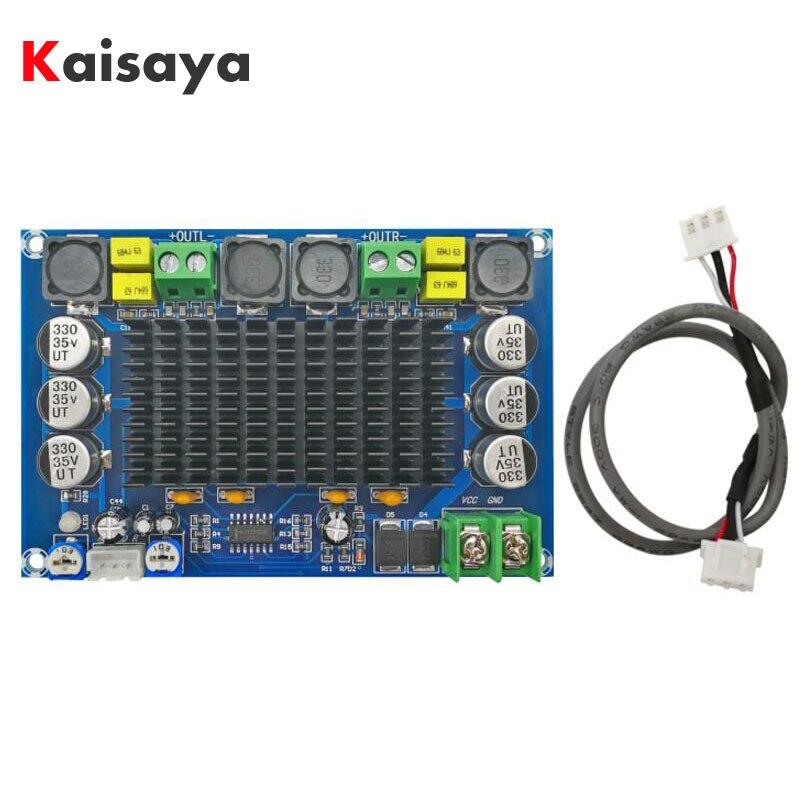 XH-M569 TPA3116D2 deux puce double canal préamplificateur 150 W x 2 haute puissance amplificateur numérique conseil C3-004