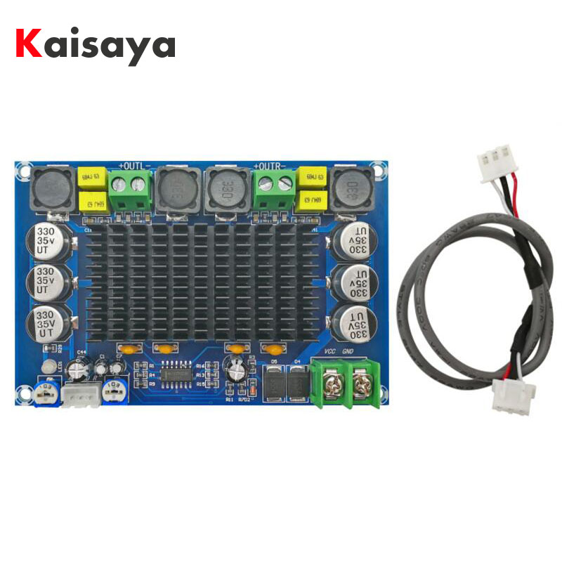 XH-M569 TPA3116D2  two chip dual channel preamplifier 150W x 2 high power digital amplifier board C3-004