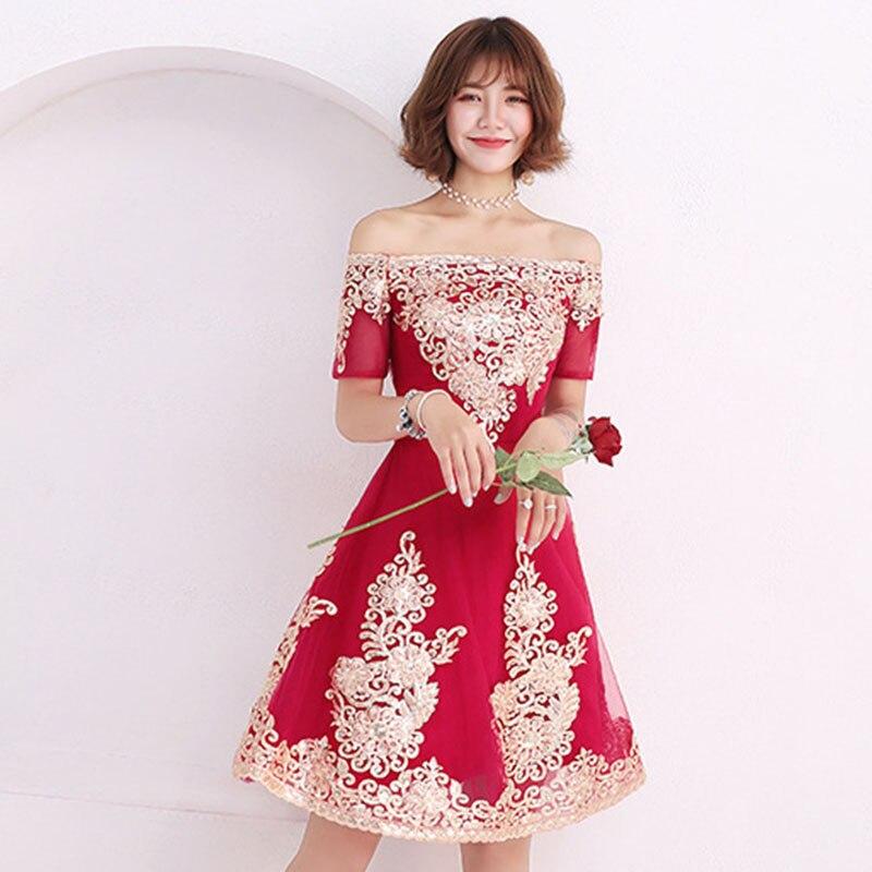 Sexy One-shoulder Short Dresses Cocktail Bandage Women Avondjurken Gala Jurken Luxury Embroidery   Formal Party Gown