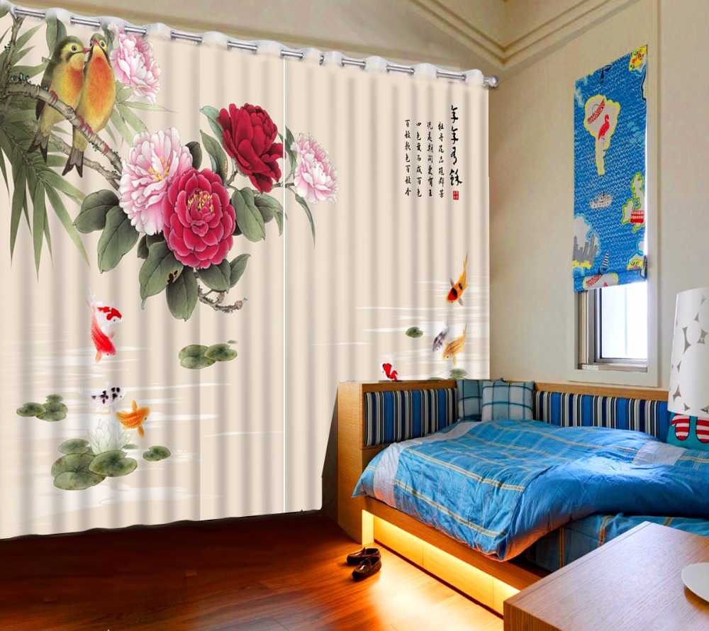Aliexpress Com Buy Modern Printing 3d Curtains Window