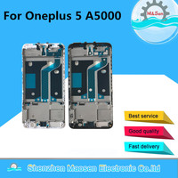M Sen For Oneplus 5 A5000 Front Bezel Middle Frame Housing White Black Free Shipping
