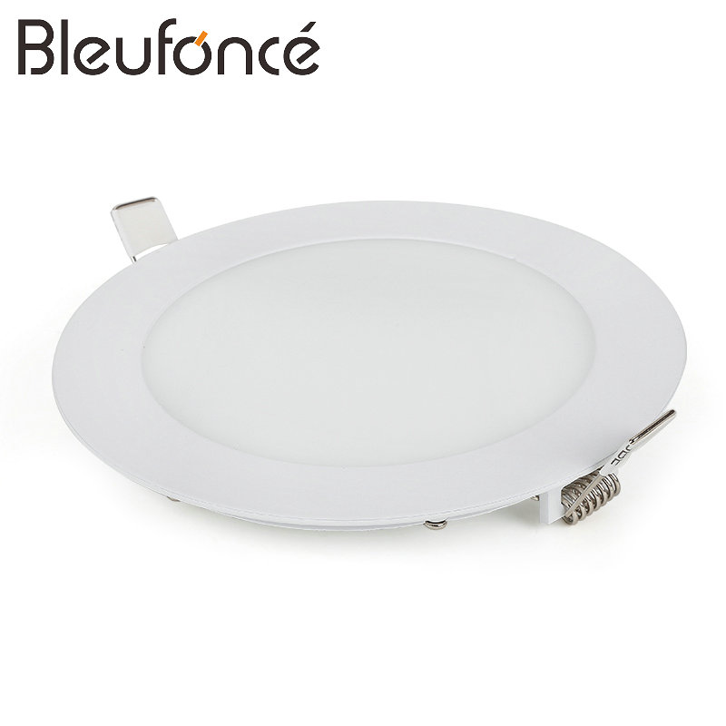 Ultra Thin LED Panel Light Ceiling 3W 6W 9W 12W 15W 18W Round/Square LED Ceiling Recessed Lights Power Supply Included BL293
