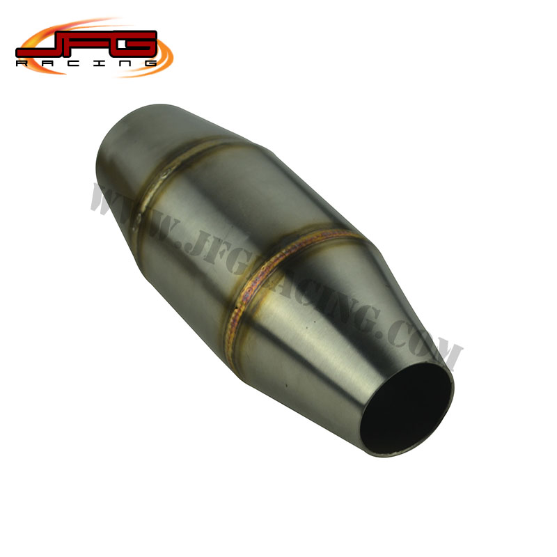 US $30 0 |Motorcycle Exhaust Pipe Muffler Expansion Chamber For Dirt Bike  Pit Bike Motocross CRF RMZ DRZ KTM YZF CR KXF EXC-in Exhaust & Exhaust
