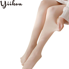 Female spring and summer stockings pantyhose thick bottoming women anti-hook velvet flesh-colored sexy tight